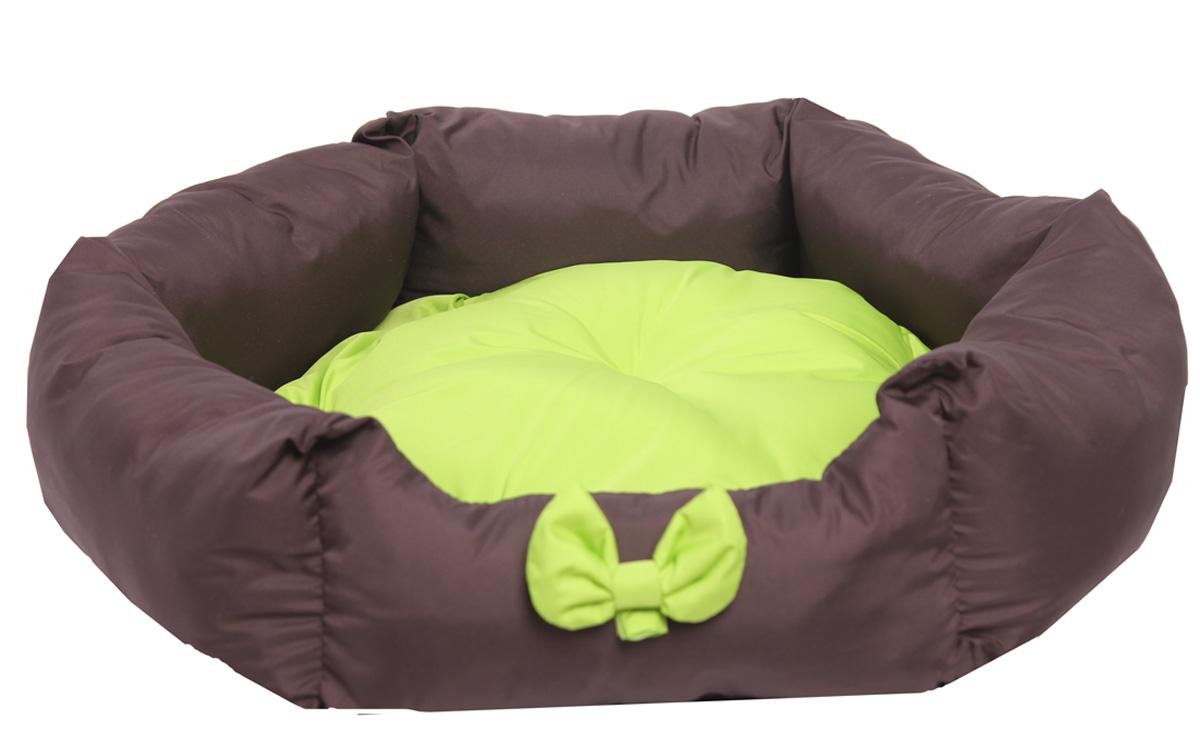 Лежанка для собак Lion Manufactory Комфорт, с подушкой, цвет: зеленый, размер M, 60 х 52 х 19 смLM4090-002mЛежанка Lion Manufactory Уют, выполненная из высококачественного хлопка и синтепона, предназначена для собак. Она идеальна для клеток, переносок, автомобилей. Легко складывается для хранения и перевозки. К изделию не прилипает шерсть животного. Изделие оснащено съемной подушкой.Рекомендована деликатная стирка при 30°C.Размер спального места: 55 х 49 см.