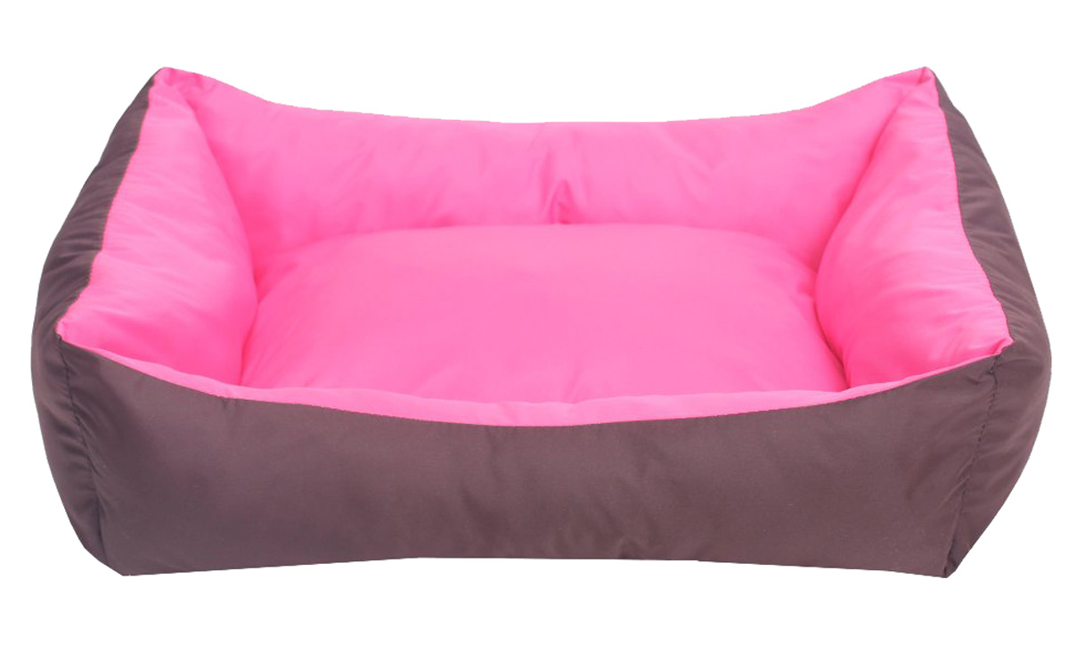 Лежанка для собак Lion Manufactory Уют, цвет: розовый, размер S, 42 х 32 х 15 см0120710Двухсторонняя Лежанка Lion Manufactory Уют, выполненная из высококачественного хлопка и синтепона, предназначена для собак. Она идеальна для клеток, переносок, автомобилей. Легко складывается для хранения и перевозки. К изделию не прилипает шерсть животного. Рекомендована деликатная стирка при 30°C.Размер спального места: 41 х 31 см.
