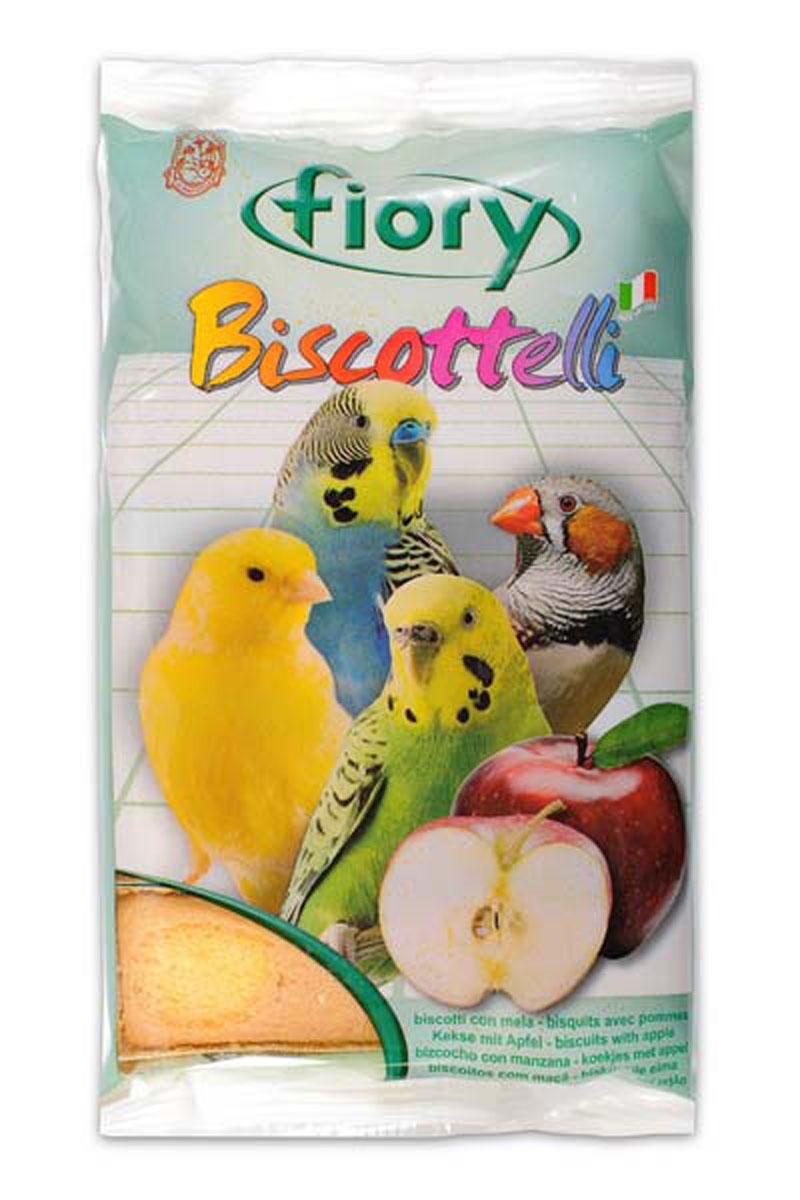 Бисквиты для птиц Fiory Biscottelli, с яблоком, 30 г0120710Бисквиты для птиц Fiory Biscottelli с яблоком прекрасное лакомство для домашних птиц.Порадуйте вашу птичку ароматными бисквитами, в состав которых входят злаки, помогающие пищеварению вашего питомца. Содержат яйца, сахар, молоко, яблоки. Ингредиенты: злаки, яйцо и его производные (30%), сахар (27%), яблоко (4,1%), содержащиеся антиоксиданты одобрены Советом Европы.