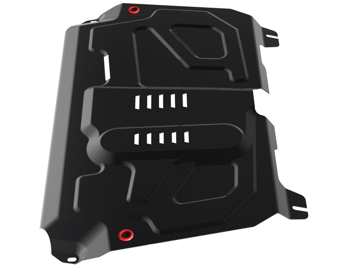 Защита картера и КПП Автоброня, для Toyota/Lexus1004900000360Технологически совершенный продукт за невысокую стоимость.Защита разработана с учетом особенностей днища автомобиля, что позволяет сохранить дорожный просвет с минимальным изменением.Защита устанавливается в штатные места кузова автомобиля. Глубокий штамп обеспечивает до двух раз больше жесткости в сравнении с обычной защитой той же толщины. Проштампованные ребра жесткости препятствуют деформации защиты при ударах.Тепловой зазор и вентиляционные отверстия обеспечивают сохранение температурного режима двигателя в норме. Скрытый крепеж предотвращает срыв крепежных элементов при наезде на препятствие.Шумопоглощающие резиновые элементы обеспечивают комфортную езду без вибраций и скрежета металла, а съемные лючки для слива масла и замены фильтра - экономию средств и время.Конструкция изделия не влияет на пассивную безопасность автомобиля (при ударе защита не воздействует на деформационные зоны кузова). Со штатным крепежом. В комплекте инструкция по установке.Толщина стали: 2 мм.
