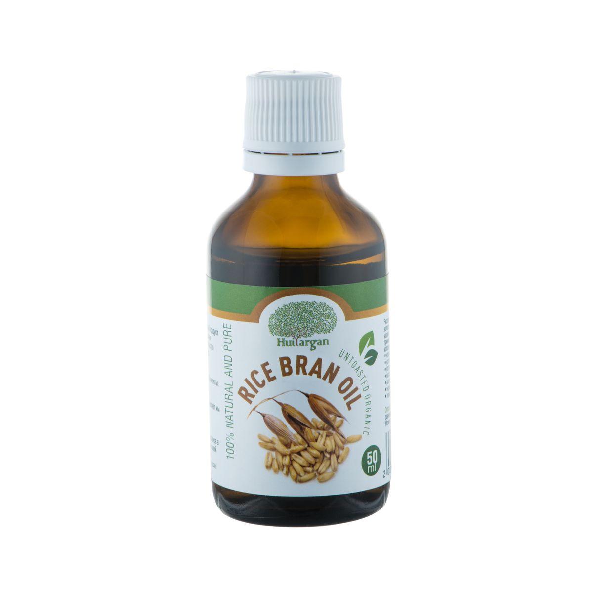Huilargan Масло рисовых отрубей, 100% натуральное, 50 мл72523WDМасло рисовых отрубей (Rice bran oil ) - уникальный продукт рекомендован для сухой и увядающей кожи. Благодаря глубокому проникновению в кожу, рисовое масло быстро впитывается и попадает в нижние слои эпидермиса. Оно проявляет следующие действия:- провоцирует выработку эластина и гиалуроновой кислоты;- насыщает клетки витаминами;- увлажняет кожу и препятствует потере влаги;- разглаживает уже имеющиеся морщины и не позволяет им закладываться в будущем;- обновляет кожный покров;- выравнивает рельеф, улучшает цвет лица.Благодаря мягкому воздействию и отсутствию аллергенов в составе, продукт используется для ухода за нежной кожей вокруг глаз. Масло питает кожу век, подтягивает ее, разглаживает мелкие морщины и препятствует отечности.Рисовое масло способствует активизации замерших волосяных луковиц и укреплению корней волос. Массаж и маски с маслом рисовых отрубей уже через 10 дней применения покажут видимые результаты. Кроме того, его использования произведет дополнительные эффекты:- нормализует жирность кожи головы;- успокоит раздражение;- устранит перхоть;- восстановит даже сильно поврежденные волосы;- восполнит недостаток витаминов;- нормализует кислотный баланс;- поможет справиться с секущимися кончиками.