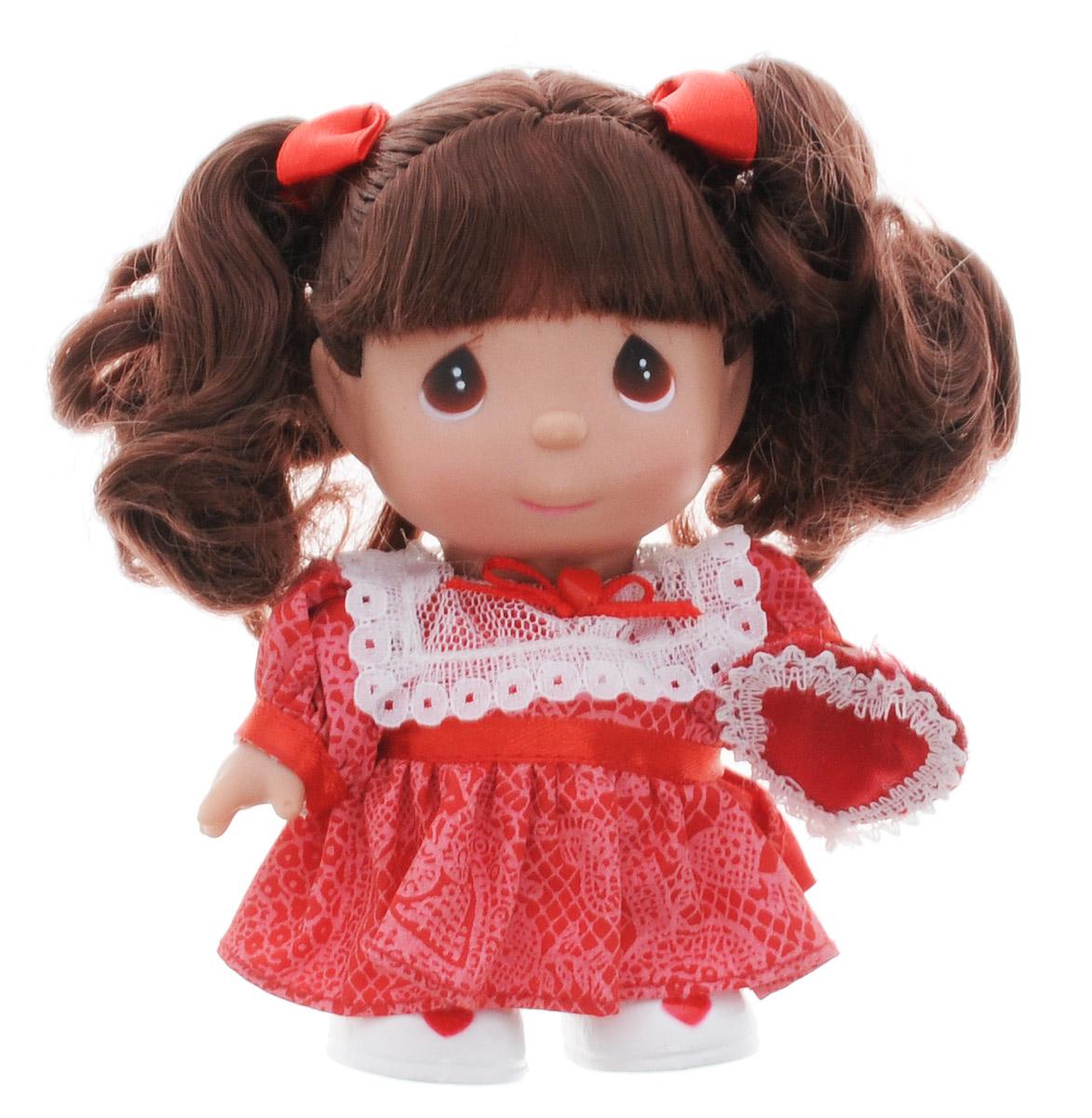Precious Moments Мини-кукла Февраль купить платье мини красное