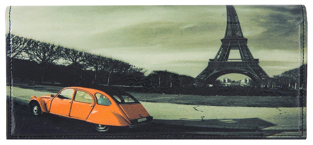 Портмоне женское Flioraj Париж, цвет: красный, белый, черный. 00050940BM8434-58AEЭлегантный портмоне Flioraj выполнен из натуральной кожи с красочным фотопринтом. Кошелек закрывается широким клапаном на кнопку. Внутри имеется пять отделений для купюр и бумаг, карман для мелочи на застежке-молнии, шесть наборных карманов для кредитных карт или визиток. На внешней стороне расположен карман для мелких бумаг. Такое портмоне станет отличным подарком для человека, ценящего качественные и необычные вещи. Портмоне упаковано в картонную коробку с логотипом фирмы. B>Характеристики: Материал:натуральная кожа, металл, текстиль. Размер кошелька: 18 см x 9 см х 2 см. Цвет: красный, белый, черный. Размер упаковки: 20 см х 12 см х 3 см. Производитель: Россия. Артикул: 00050940