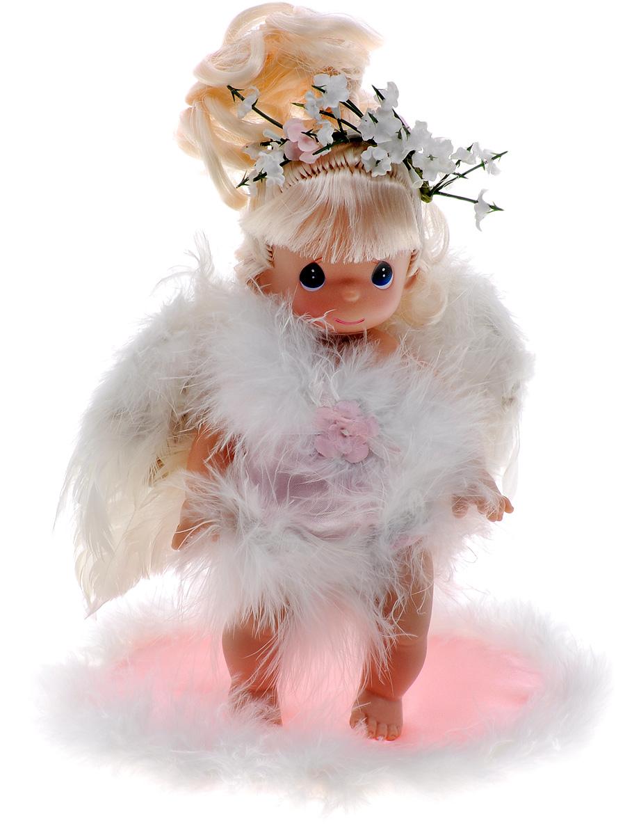 Precious Moments Мини-кукла Ангелочек блондинка precious moments мини кукла пастушка цвет платья светло коралловый
