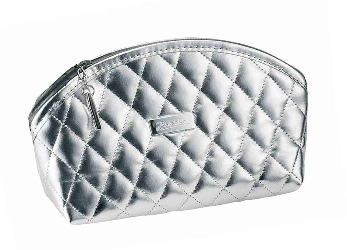 Janeke Косметичка женская, A6160VT-ARGINT-06501Марка Janeke – мировой лидер по производству расчесок, щеток, маникюрных принадлежностей, зеркал и косметичек. Марка Janeke, основанная в 1830 году, вот уже почти 180 лет поддерживает непревзойденное качество своей продукции, сочетая новейшие технологии с традициями старых миланских мастеров. Все изделия на 80% производятся вручную, а инновационные технологии и современные материалы делают продукцию марки поистине уникальной. Стильный и эргономичный дизайн, яркие цветовые решения – все это приносит истинное удовольствие от использования аксессуаров Janeke. Какая женщине не мечтает о красивой косметичке? Только та, у которой она уже есть. Удобные и яркие, вместительные и прочные – Janeke представляет косметички на любой, даже самый взыскательный вкус.Состав (материал верха): 80% полиуретан, 15% вискоза, 5% полиэстер.