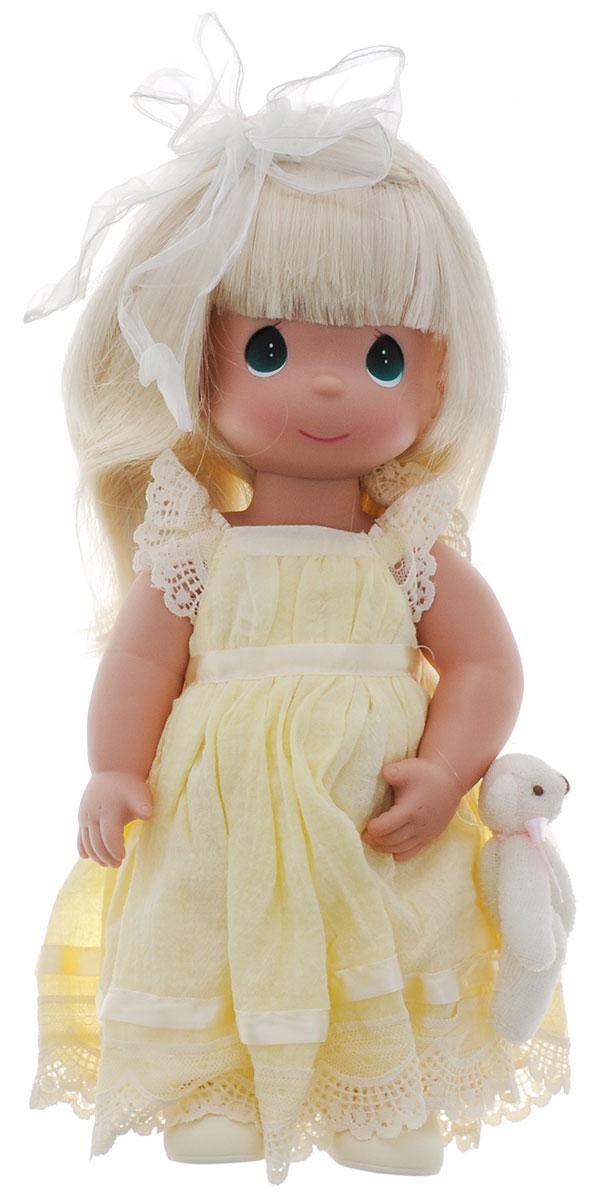 Precious Moments Кукла Люби меня цвет волос светлый куклы и одежда для кукол precious кукла люби меня рыжая 30 см