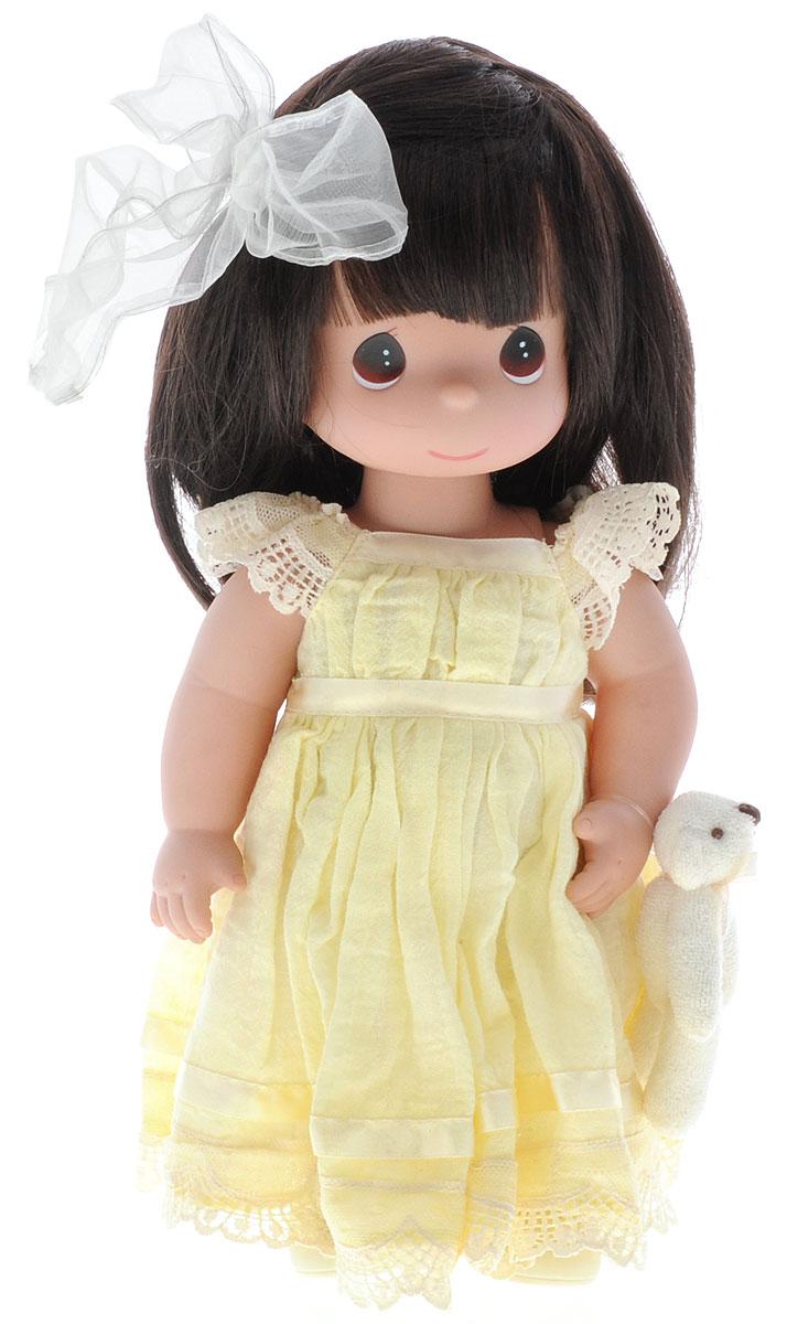 Precious Moments Кукла Люби меня цвет волос темный куклы и одежда для кукол precious кукла люби меня рыжая 30 см