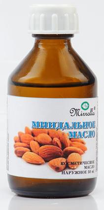 Масло Миндальное 50 млAC-2233_серыйМасло миндальное - питает, регенерирует, увлажняет нежную, склонную к раздражению кожу; способствует снятию покраснения и отечности; помогает в борьбе с целлюлитом; стимулирует рост волос; укрепляет и питает ресницы.