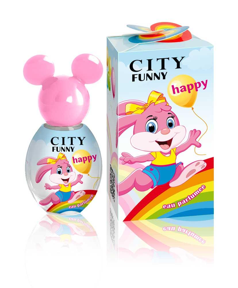 City Parfum, Душистая вода City Funny Happy, детская 30 мл