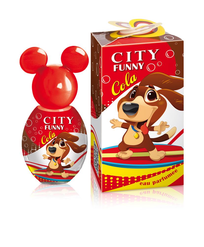 City Parfum,Душистая вода City Funny Cola, детская 30 мл
