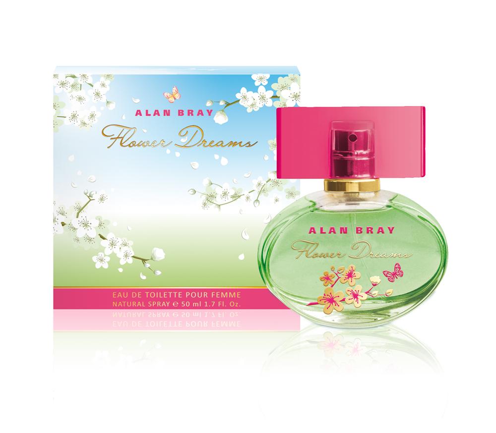 Alan Bray,Туалетная вода Flower Dreams, женская 50 мл парфюмерная вода alan bray высший свет eclat d'etoile 50 мл