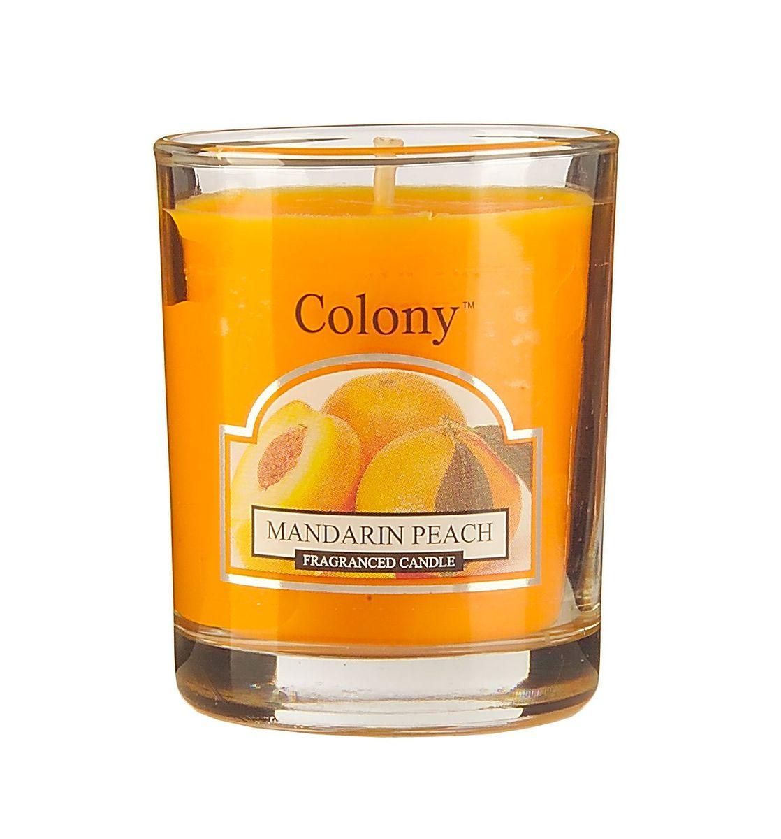 Свеча ароматическая лампадная Wax Lyrical Мандарин и персик, 14 часов, 130 гCH3618Свеча ароматическая лампадная Wax Lyrical Мандарин и персик имеет бодрящий аромат спелого персика и сладкого мандарина.