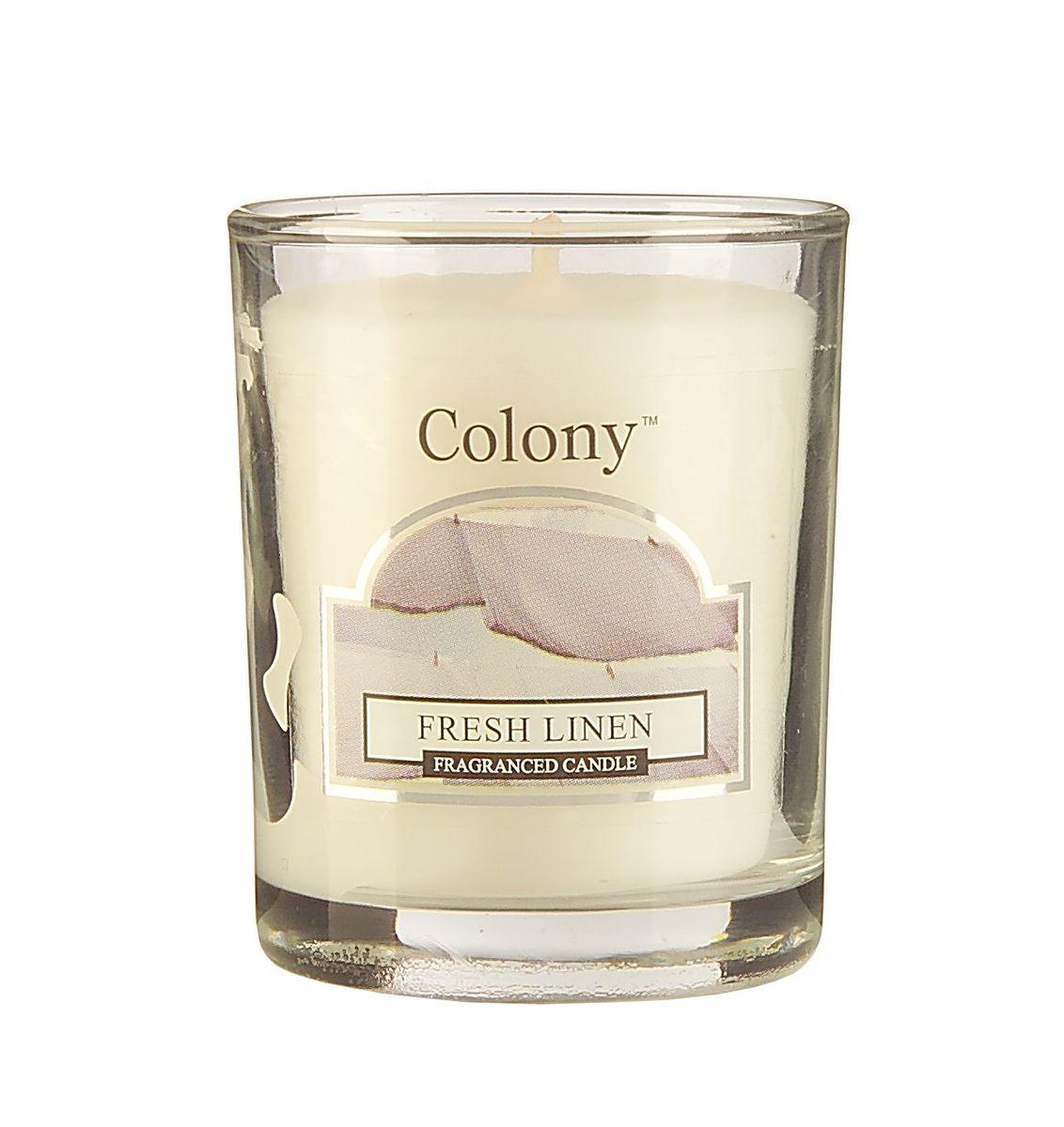 Свеча ароматическая лампадная Wax Lyrical Свежий лен, 14 часов, 130 гRG-D31SСвеча ароматическая лампадная Wax Lyrical Свежий лен имеет насыщенный аромат промытого льна.