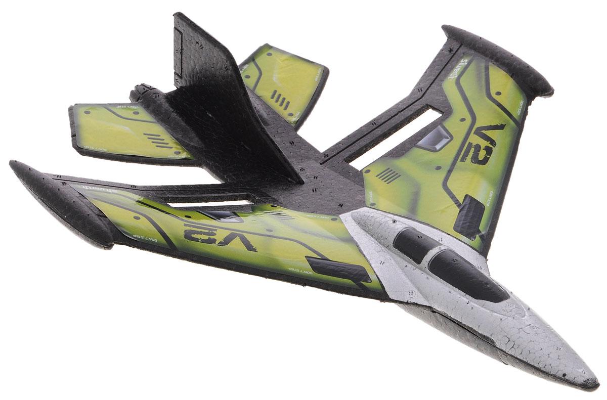 Silverlit Самолет на радиоуправлении X-Twin Jet цвет зеленый