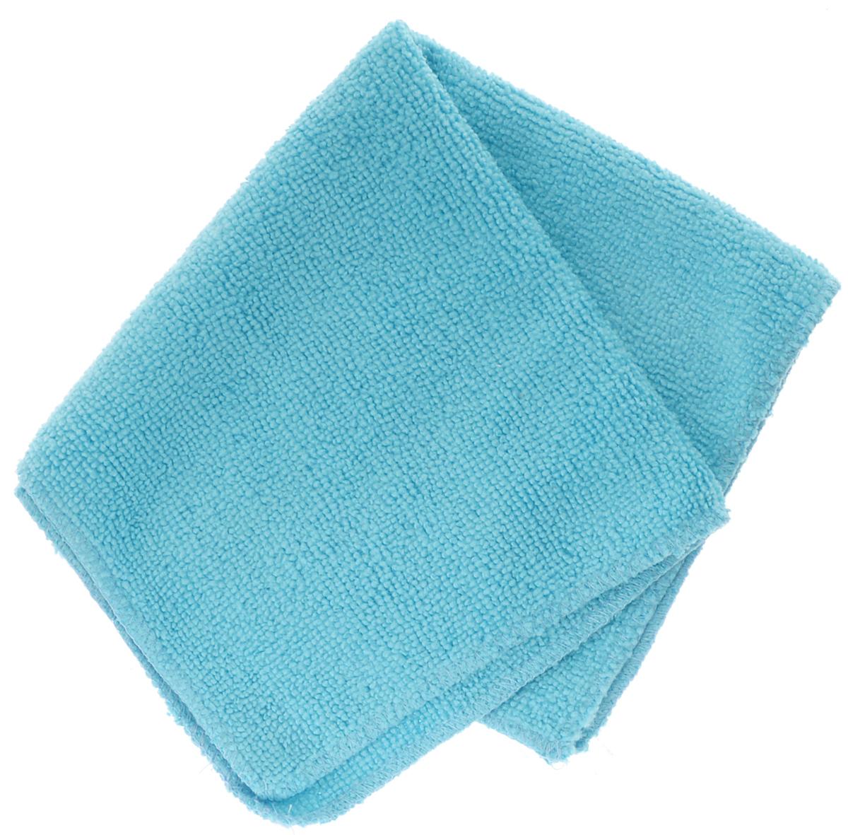 Салфетка автомобильная EvaAuto, универсальная , цвет: голубой, 30 х 30 смHG 5604 NУниверсальная автомобильная салфетка EvaAuto, выполненная из микрофибры, идеально подходит для уборки. В сухом виде применяется для вытирания пыли и легких загрязнений, во влажном - для удаления загрязнений с любых поверхностей без применения моющих средств. Не оставляет разводов и ворсинок, полностью впитывает влагу. Сохраняет эффект даже после многократных стирок. Размер салфетки: 30 см х 30 см.