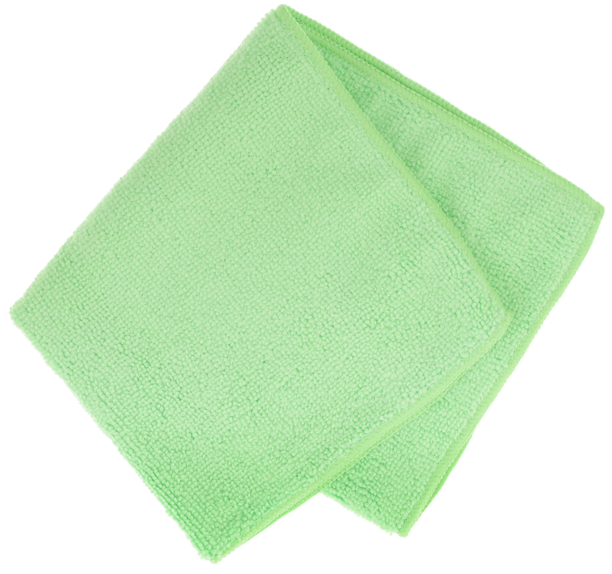 Салфетка для уборки Sol из микрофибры, цвет: зеленый, 30 x 30 смЧС 1.4Салфетка Soll выполнена из микрофибры. Микрофибра - это ткань из тонких микроволокон, которая эффективно очищает поверхности благодаря капиллярному эффекту между ними. Такая салфетка может использоваться как для сухой, так и для влажной уборки. Деликатно очищает любые поверхности не оставляя следов и разводов. Идеально подходит для протирки полированной мебели.Рекомендации по применению и уходу: Для обеспечения гигиеничности рекомендуется прополаскивать салфетку после каждого применения с моющим средством. Для сохранения мягкости не рекомендуется сушить вблизи отопительных приборов и на батареях. Нельзя стирать с отбеливающими средствами, кипятить и гладить.