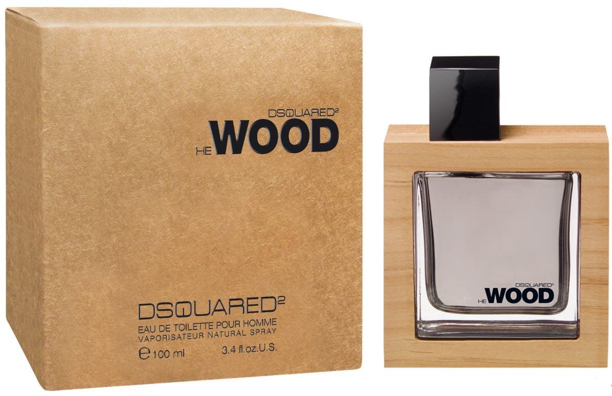 Dsquared He Wood Туалетная вода мужская спрей 100 мл1301210He Wood — это воплощение любви к природе.Создатели бренда, братья Dean и Dan в своем первом аромате воспели северную привлекательность лесов Канады. Концепция аромата построена на запахе самого сильного, прекрасного и роскошного из природных созданий — запахе дерева. Этот аромат посвящен современному мужчине, который ищет в природе путь к свободе и совершенству, и даже флакон аромата объясняет суть этой природной симфонии: дерево украшает название и упаковку аромата обрамлением из канадской красной ольхи.