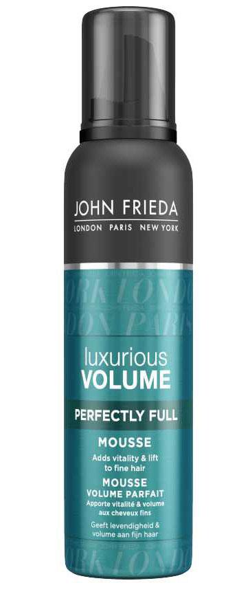 John Frieda Мусс Luxurious Volume для создания объема с термозащитным действием 200 млMP59.4DДобавляет жизненной силы и объема тонким волосам. Создает роскошный естественный объем. Vitality Complex с кофеином в составе ультра легкого мусса Luxurious Volume создает восхитительный объем надолго и сохраняет укладку, не склеивая волосы.