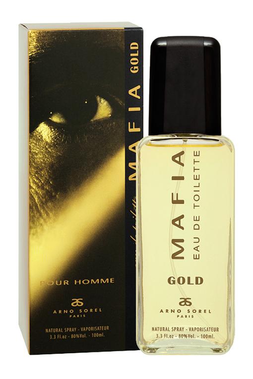 Corania Туалетная вода Mafia Gold (Mafia Gold) мужская 100 мл
