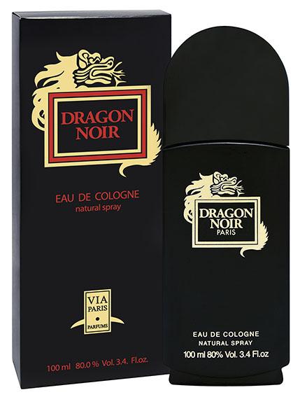 Dragon Parfums Одеколон мужская Dragon Noir (Драгон Нуар) мужская 100 мл42747Именитый одеколон от VIA Paris сохранил многогранный, глубокий аромат, классический флакон и традиционную упаковку. Отличный выбор для стильного, энергичного мужчины!Классификация аромата: фужерно-древесныйПирамида аромата:Верхние ноты: бергамот, базилик, лимон, розмаринНоты сердца: жасмин, кориандр, гвоздика, корица, можжевельникНоты шлейфа: дубовый мох, ветивер, амбра, ель, кедр, кожа, сандалКлючевые слова: древесный, глубокий, мужественный