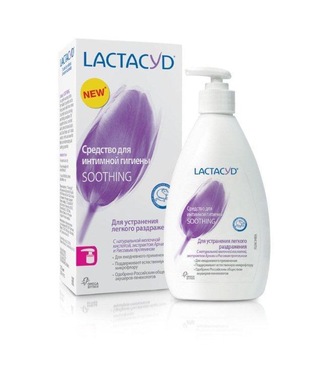 Lactacyd Ежедневное средство для интимной гигиены Смягчающее 200млMFM-3101Для устранения легкого раздражения, с натуральной молочной кислотой, экстрактом Арники и Рисовым протеином. Смягчающая формула Lactacyd Soothing c Рисовым протеином и экстрактом Арники, создана специально для смягчения и снятия легкого раздражения в интимной зоне. А отсутствие мыла и наличие натуральной молочной кислоты в Lactacyd Soothing помогают поддерживать естественную микрофлору интимной cферы.