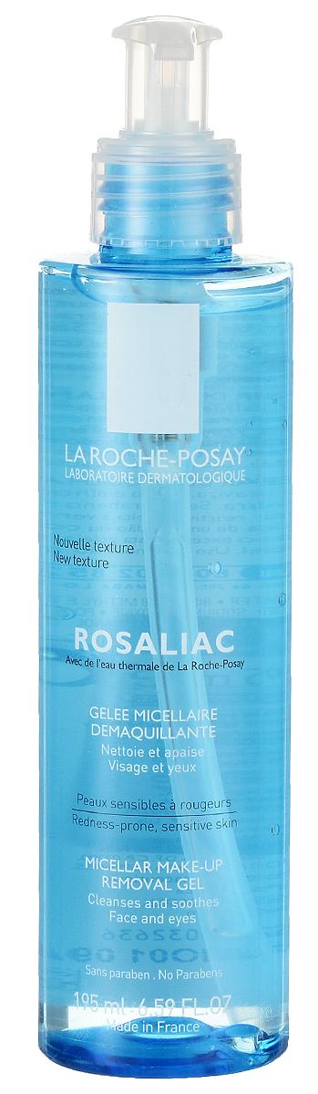 La Roche-Posay Очищающий мицеллярный гель для лица Rosaliac 195 мл17166822Мягкий ультраосвежающий гель разработан специально для бережного очищения кожи, склонной к покраснениям. Придает коже гладкость и чувство комфорта. Содержит термальную воду La Roche-Posay, богатую селеном и обладающую увлажняющими и успокаивающими свойствами.