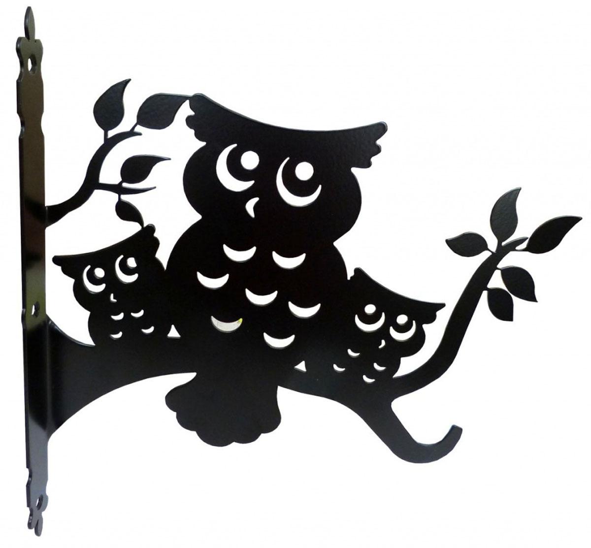 Держатель для кашпо Gala, цвет: черный. DK004-BZ-0307Оригинальный держатель для кашпо Gala, изготовленный из металла в виде оригинальной фигурки, станет прекрасным украшением вашего сада. С его помощью вы сможете расположить корзину с цветами в любом удобном месте: на даче, участке, на городском балконе и в других местах.Такой держатель с годами не потеряет своей привлекательности. Он послужит настоящим украшением и необычным элементом дизайна.Размер держателя (ДхШ): 23,6 х 30 см.