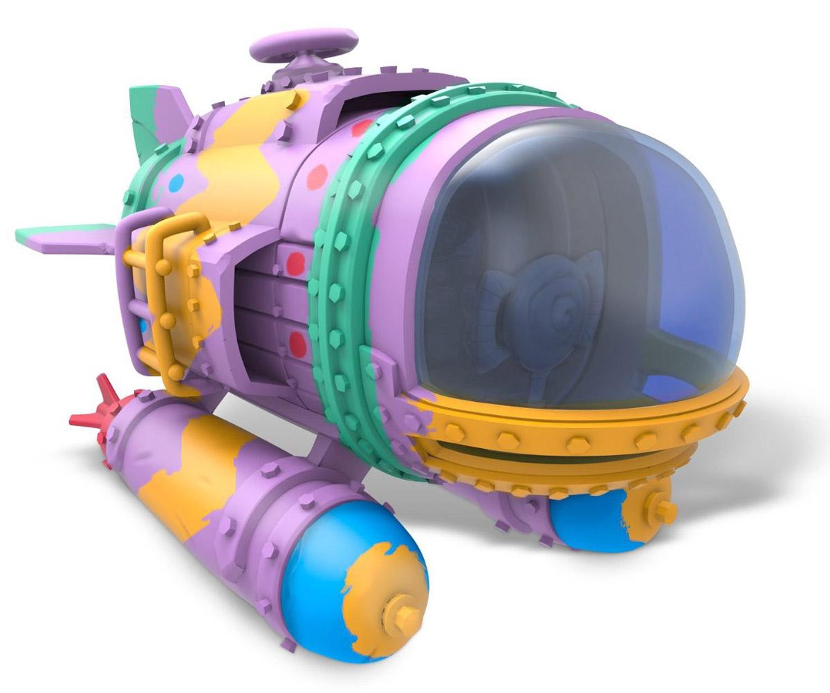 Skylanders SuperChargers. Машина Spring Ahead Dive Bomber (стихия Water)