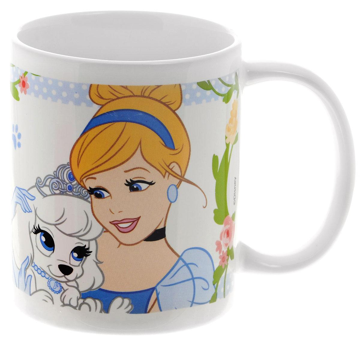 Stor Кружка детская Принцессы и их питомцы 325 мл72905Детская кружка Stor Принцессы и их питомцы с любимыми героями мультфильмов станет отличным подарком для вашей малышки. Она выполнена из керамики и оформлена изображением диснеевских принцесс с их питомцами. Кружка дополнена удобной ручкой.Такой подарок станет не только приятным, но и практичным сувениром: кружка будет незаменимым атрибутом чаепития, а ее оригинальное оформление добавит ярких эмоций и хорошего настроения.Допустимо использование в микроволновой печи и посудомоечной машине.