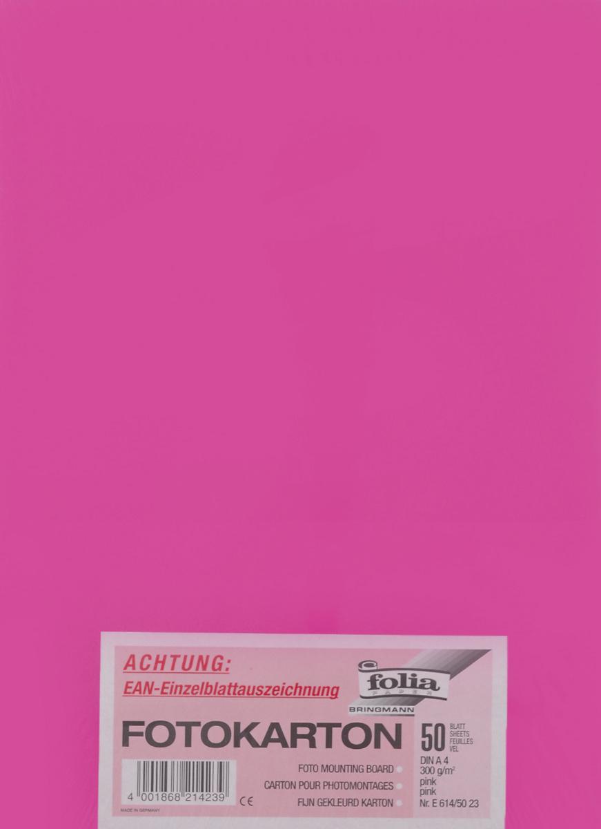 Фотокартон Folia, цвет: розовый, 21 х 30 см, 50 листов72523WDФотокартон Folia - это цветная плотная бумага. Используется для изготовления открыток, пригласительных, дляскрапбукинга, для изготовления паспарту и других декоративных или дизайнерских работ.