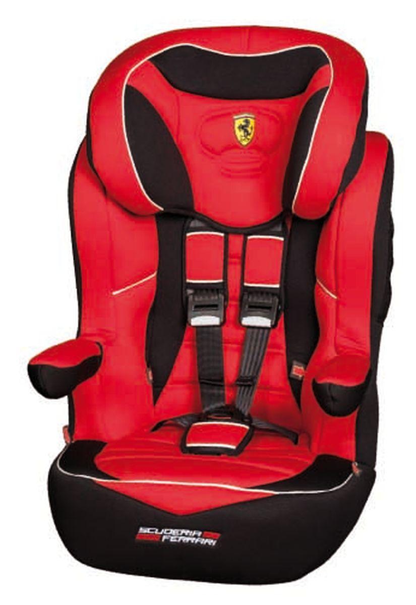 Nania Автокресло Imax SP Ferrari Corsa от 9 до 36 кг925256Автокресло Nania Imax SP группы 1-2-3 предназначено для детей весом от 9 до 36 кг (от 8 месяцев до 12 лет) и соответствует стандартам ECE R44/04.Благодаря длительному периоду использования и регулируемому по высоте подголовнику Nania Imax SP охватывает все возрастные группы от 8 месяцев до 12 лет (когда кресло уже не нужно). Nania Imax SP было разработано на основе требований безопасности, а также ортопедических факторов: мягкие обивка и подушки, а также анатомическая форма Nania Imax SP обеспечивает комфорт даже в дальних поездках. Nania Imax SP имеет удобные подлокотники, которые при необходимости можно поднять вверх. Система боковой защиты Side Protection (SP) обеспечивает необходимую безопасность даже при боковом столкновении. Подголовник можно отрегулировать по высоте, таким образом автокресло оптимально адаптируется к росту ребенка. 5-ти точечные ремни безопасности можно регулировать не только по длине и высоте, но и снять совсем, когда ребенок подрастет. Обивка выполнена из 100% полистирола, которую легко снимается и моется. Серия FERRARI - фирменные цвета итальянского спорткара в сочетании с автокреслом серии LUXE. Гарантирует европейское качество и обеспечивает безопасность пассажира.Технические характеристики:Внешние размеры (Д х Ш х В): 45 см x 45 см x 72-88 см Внутренние размеры (Д х Ш): 32 см x 40 см.Высота спинки:64 см - 75 см.Вес: 4,7 кг.Монтаж в автомобиле: Задний диван или сиденье пассажира.Направление установка: по ходу движения.Класс: I-III, 9-36 кг.Система крепления: 5-точечные ремни безопасности.Ткань: 100% полиэстер, стирать до 30°C.