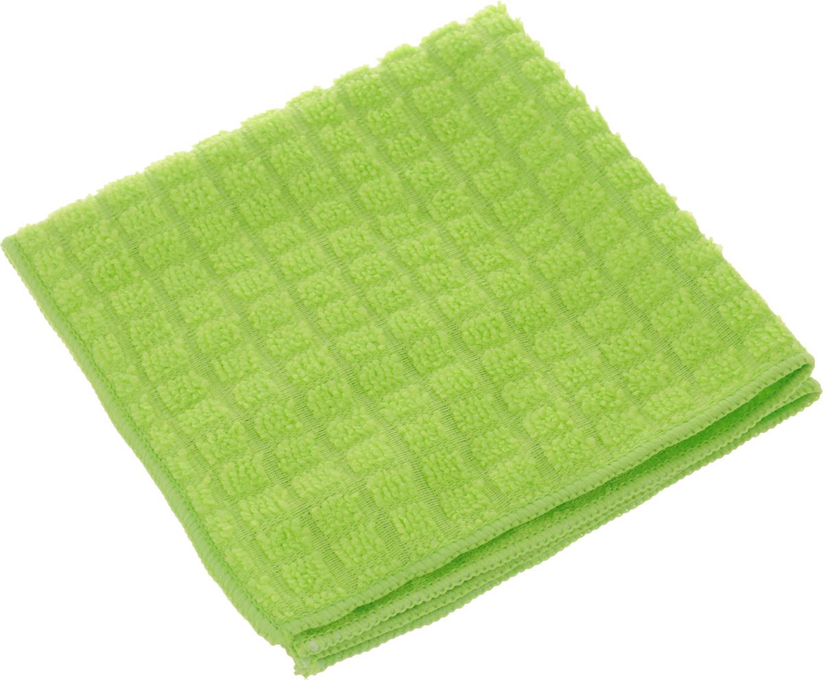 Салфетка Sol Crystal из микрофибры, быстросохнущая, цвет: зеленый, 30 x 30 смTF-14AU-12Салфетка Sol Crystal выполнена из микрофибры для деликатной чистки и полировки лакированных, глянцевых, и хромированных поверхностей, а так же стекол и зеркал. Салфетку можно эффективно применять как во влажном, так и в сухом виде.Можно применять различные моющие средства.Не оставляет разводов и ворсинок.Можно стирать вручную или в стиральной машине с мягким моющим средством без использования кондиционера и отбеливателя, при температуре не выше 95°С.Запрещается кипячение и глажка.Рекомендована бережная сушка.Размер салфетки: 30 х 30 см.
