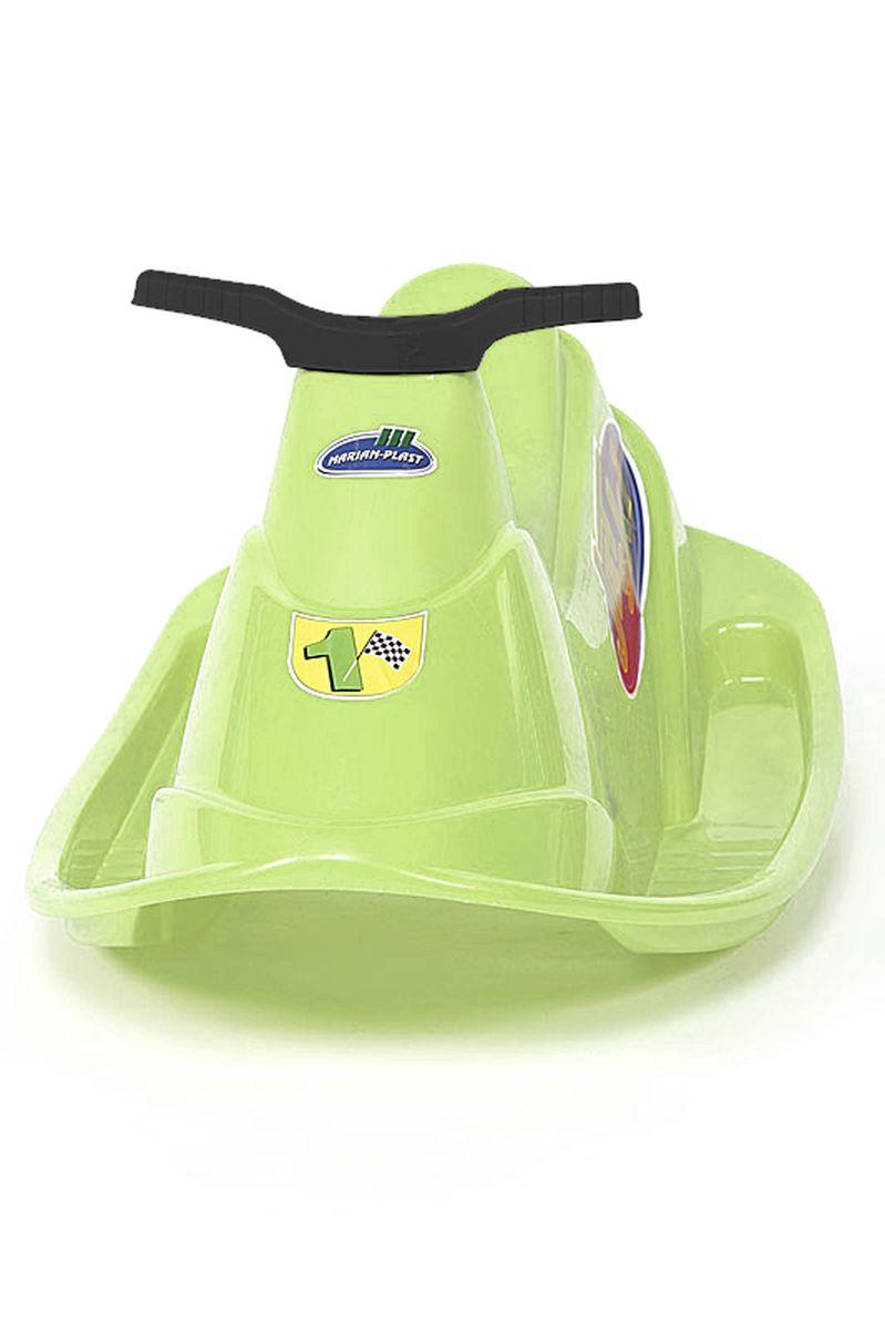 Marian Plast Качели Водный мотоцикл цвет салатовый -  Ходунки, прыгунки, качалки