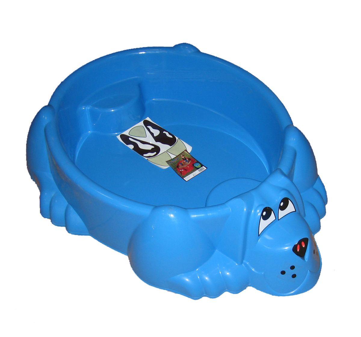 Marian Plast Бассейн Собачка цвет синий palplay marian plast песочница бассейн собачка тент