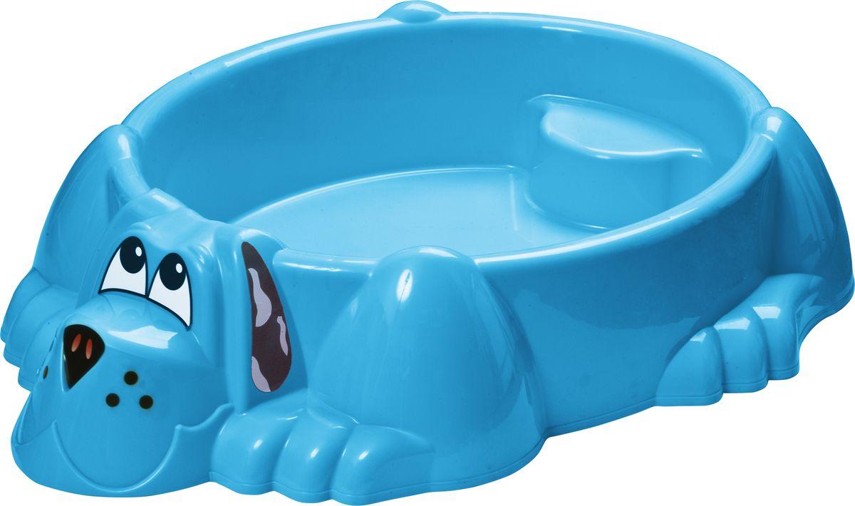 Marian Plast Бассейн Собачка цвет голубой
