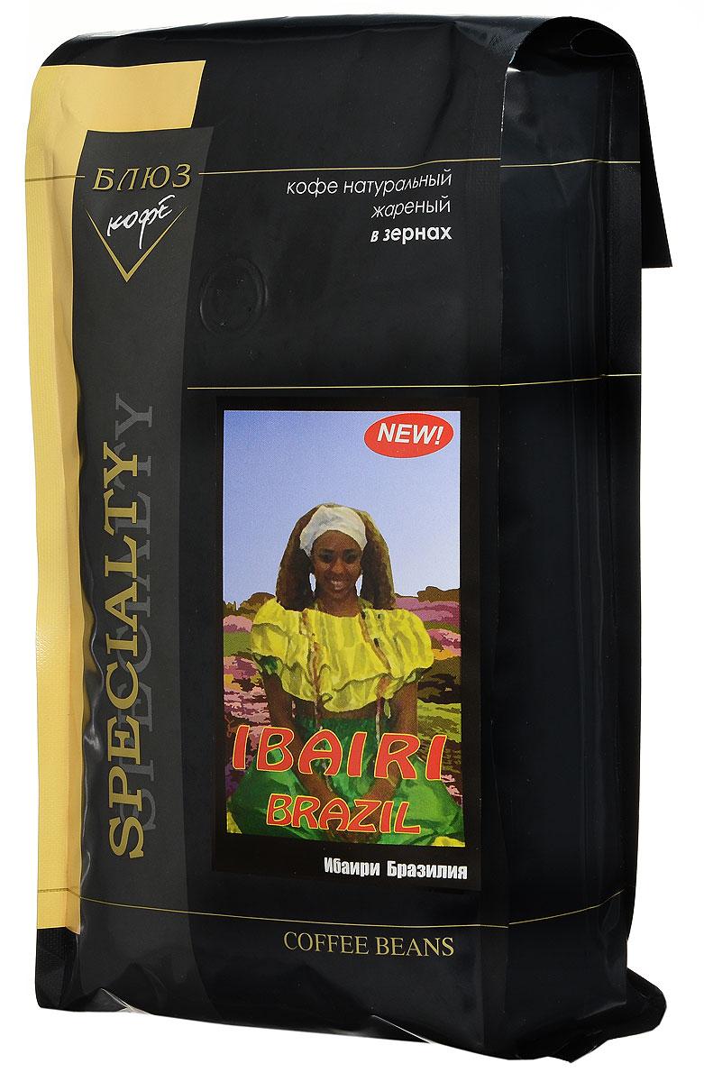 Блюз Ибаири Бразилия кофе в зернах, 1 кг401.001.003Блюз Ибаири Бразилия - самая мелкая из разновидностей арабики. В этом терпком приятном напитке сладкий аромат грецкого ореха соединяется с нотками белого винограда. В сбалансированном вкусе с ореховым оттенком имеется тонкая фруктовая кислинка. Послевкусие с тоном молочного шоколада.