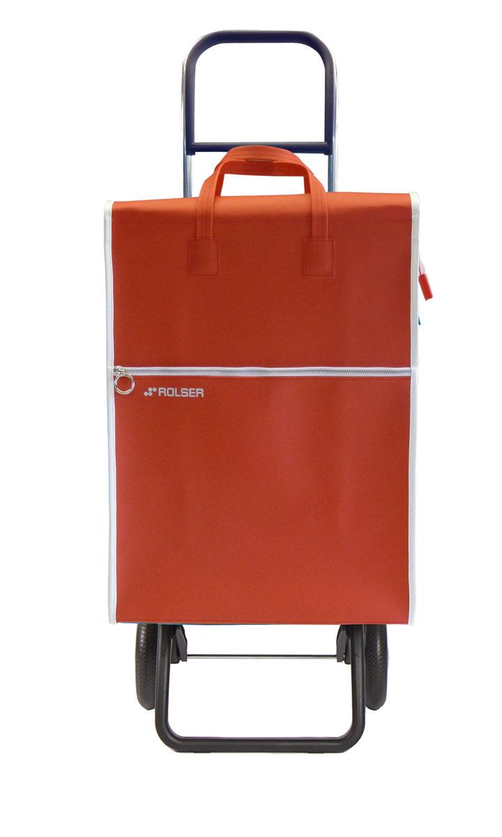 Сумка хозяйственная Rolser, на колесиках, цвет: красный, 40 лU210DFАлюминиевая тележка для покупок Rolser с 2 колесами. Колеса выполнены из резины EVA. Складываемая передняя подставка, занимает минимальное место в сложенном виде при хранении. Ткань полиэстер, влагоустойчивая. Тележка не складывается. Объем: 40 л. Диаметр колес: 16,5 см. Рекомендованная нагрузка: 25 кг.Чистка ручная или химчистка.