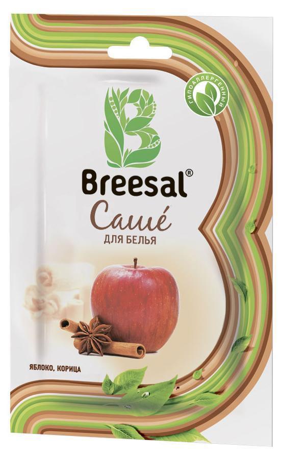 Breesal Ароматическое саше для белья Gourmet1004900000360Восхитительные природные ароматы для Вашего дома.Состав: более 5%, но менее 15: ароматическая композиция (в том числе натуральное эфирное масло листьев корицы, коричный спирт, циннамаль, кумарин, эвгенол, гексилциннамаль), более 30% природный минерал тальк.Длительность действия: до 30 дней.Способ применения: Откройте упаковку. Достаньте бумажный пакетик сароматическим саше. Внимание! Бумажный пакетик с ароматическим саше невскрывать. Положите саше в ящик для белья, комод или повести в платянойшкаф или автомобиль при помощи держателя.Меры предосторожности: Хранить в местах, недоступных для детей.Использовать по назначению и согласно способу применения. Лица, страдающие аллергическими заболеваниями, должны применять продукт с осторожностью.