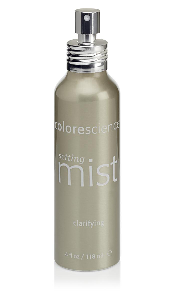 Colorescience Фиксирующий спрей для проблемной кожи Clarifying Setting Mist, 118 млFS-00897Помогает восстановить нарушенный баланс жирной и проблемной кожи. Успокаивает раздражения, связанные с проявлением акне. Помогает устранить признаки воспаления и обеспечивает антиоксидантную защиту. Превосходно удерживает нанесенный макияж и солнцезащитную минеральную пудру, оживляет и увлажняет кожу.