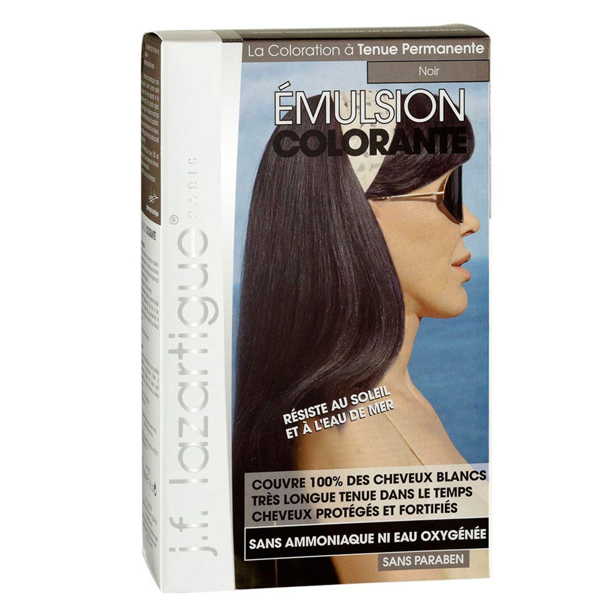 J.F.Lazartigue Оттеночная эмульсия для волос Черный 60 млCF5512F4Благодаря оригинальной формуле полностью (на 100%) скрывает седину, длительное время сохраняет цвет, поддерживает здоровье и жизненную силу волос и сохраняет эти качества, несмотря на воздействие солнечных лучей, морской воды и прочих неблагоприятных экологических факторов. Не осветляет, не повреждает, а укрепляет волосы. Не содержит аммиака, перекиси водорода и парабенов. Не предназначена для окрашивания бровей и ресниц.
