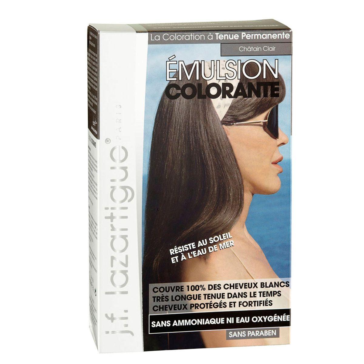 J.F.Lazartigue Оттеночная эмульсия для волос Светлый каштан 60 млA6212027Благодаря оригинальной формуле полностью (на 100%) скрывает седину, длительное время сохраняет цвет, поддерживает здоровье и жизненную силу волос и сохраняет эти качества, несмотря на воздействие солнечных лучей, морской воды и прочих неблагоприятных экологических факторов. Не осветляет, не повреждает, а укрепляет волосы. Не содержит аммиака, перекиси водорода и парабенов. Не предназначена для окрашивания бровей и ресниц.