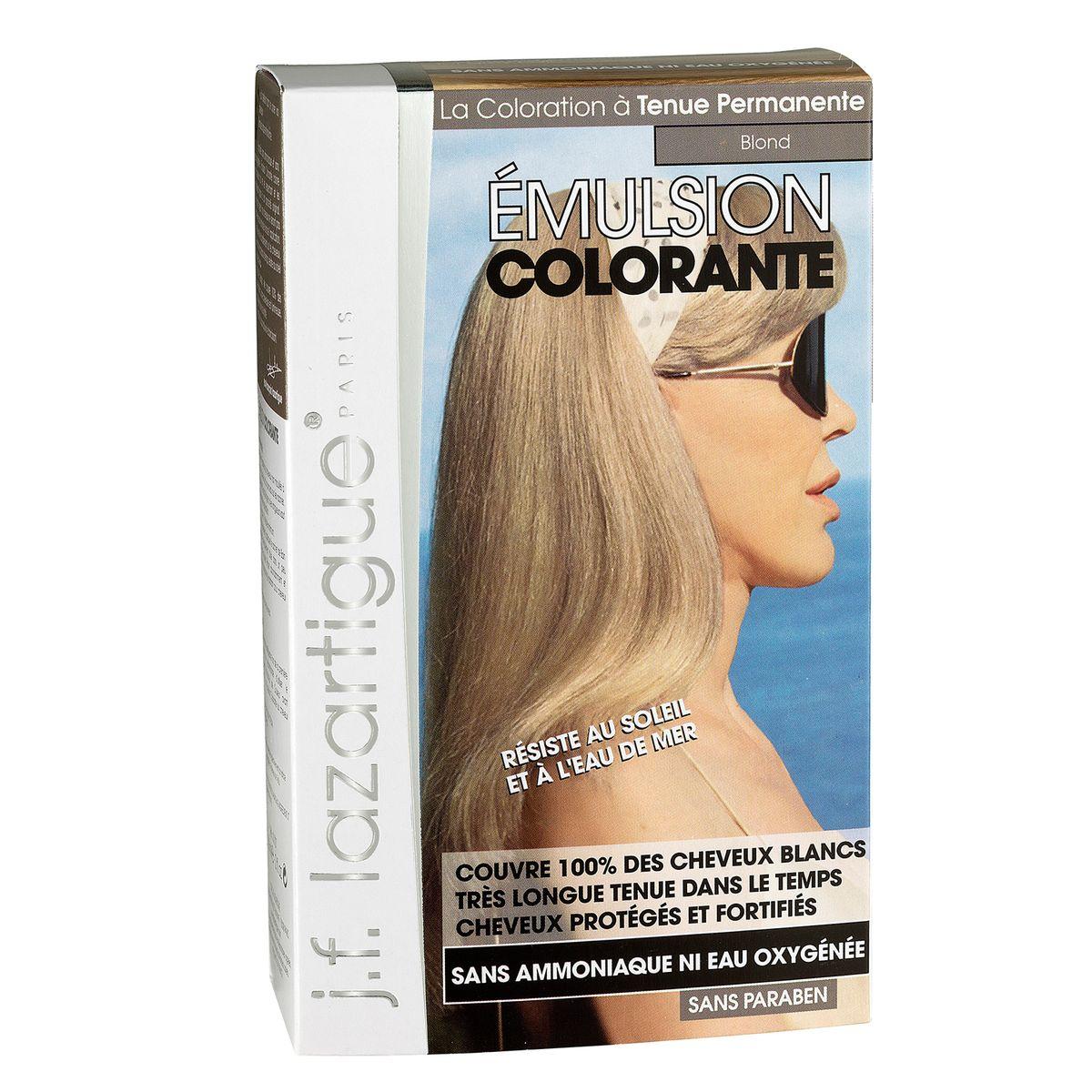 J.F.Lazartigue Оттеночная эмульсия для волос Блондин 60 млSatin Hair 7 BR730MNБлагодаря оригинальной формуле полностью (на 100%) скрывает седину, длительное время сохраняет цвет, поддерживает здоровье и жизненную силу волос и сохраняет эти качества, несмотря на воздействие солнечных лучей, морской воды и прочих неблагоприятных экологических факторов. Не осветляет, не повреждает, а укрепляет волосы. Не содержит аммиака, перекиси водорода и парабенов. Не предназначена для окрашивания бровей и ресниц.