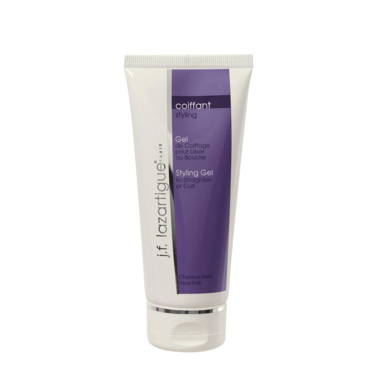 J.F.Lazartigue Гель для распрямления или укладки вьющихся волос 100 млE6295456Это специальное увлажняющее и защитное средство для вьющихся волос. Легко наносится на влажные волосы. Гель не является выпрямителем для волос, но он ослабляет завитки и облегчает укладку. Гель препятствует завиванию волос под действием влаги, что позволяет укладке держаться дольше.