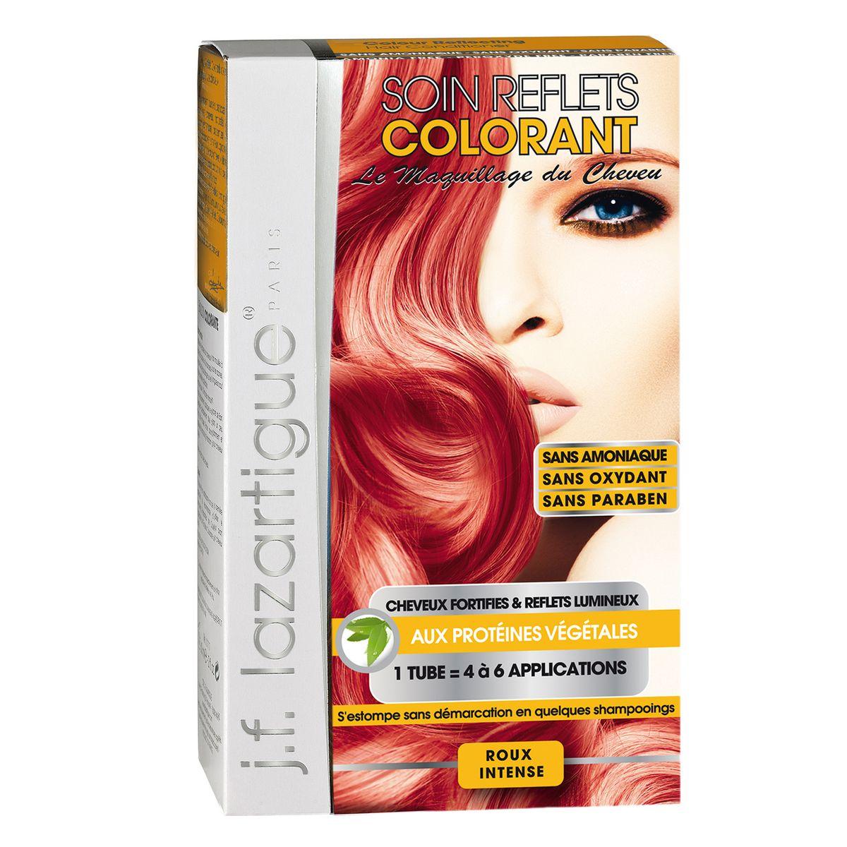 J.F.Lazartigue Оттеночный кондиционер для волос Глубокий рыжий 100 мл766509Оттеночный кондиционер J.F.LAZARTIGUE – это лечебный макияж для Ваших волос. Два эффекта: кондиционирование волос и легкий оттенок. Особенности: придает новый или более теплый (или холодный) оттенок, делает тон темнее или акцентирует цвет, оживляет естественный цвет или придает яркость тусклым и выцветшим на солнце волосам. Закрашивает небольшой процент седины! После мытья волос шампунем (3-6 раз) смывается. Для достижения индивидуального оттенка можно смешать два разных кондиционера: добавить к выбранному ТЕМНЫЙ РЫЖИЙ (Auburn), МЕДНЫЙ (Copper) и т.п. Не осветляет волосы. Не содержит аммиака и перекиси водорода. Не содержит парабенов. Не предназначен для окрашивания бровей и ресниц.