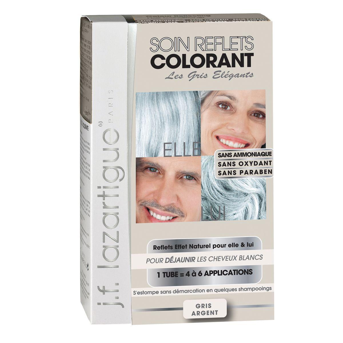 J.F.Lazartigue Оттеночный кондиционер для волос Седой 100 мл766933Оттеночный кондиционер J.F.LAZARTIGUE – это лечебный макияж для Ваших волос. Два эффекта: кондиционирование волос и легкий оттенок.