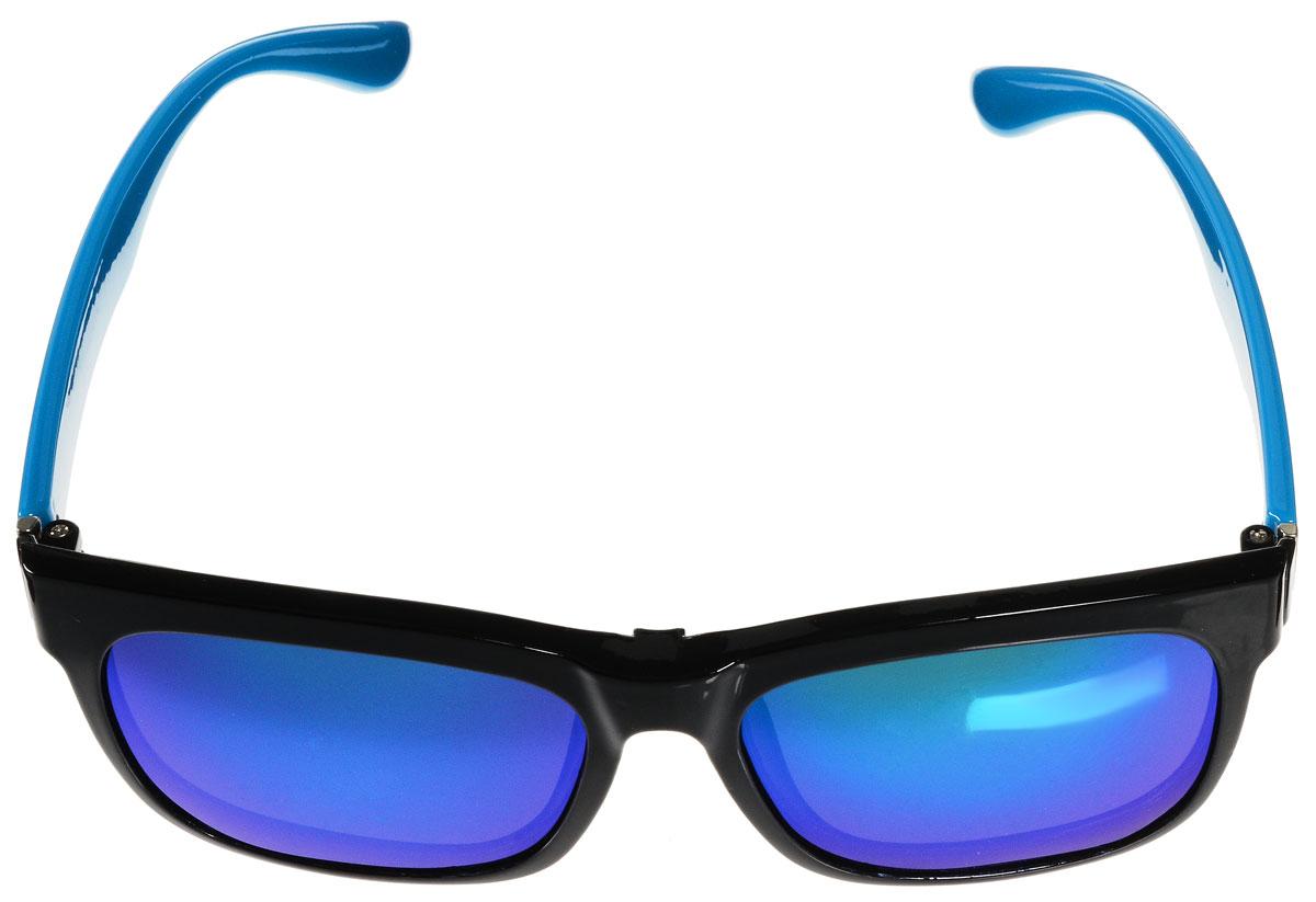 Очки солнцезащитные женские Vitacci, цвет: черный, голубой. H31BM8434-58AEСтильные солнцезащитные очки Vitacci с прозрачными поляризационными линзами в пластиковой оправе дополнены съемными затемненными линзами.Линзы обладают высокоэффективным поляризационным покрытием со степенью защиты от ультрафиолетового излучения UV400. Используемый пластик не искажает изображение, не подвержен нагреванию и вредному воздействию солнечных лучей. Оправа очков легкая, прилегающей формы и поэтому обеспечивает максимальный комфорт.Такие очки защитят глаза от ультрафиолетовых лучей, подчеркнут вашу индивидуальность и сделают ваш образ завершенным.