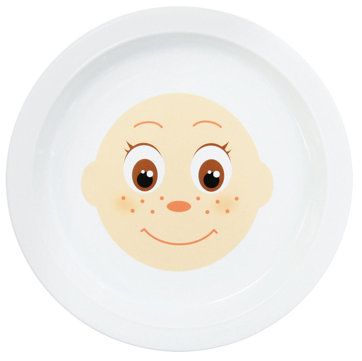 Lubby Тарелка детская ФантазерКА14125Тарелка детская Lubby ФантазерКА создана специально для творческих натур.Это помощник родителям, которые создают для своего ребенка сказку даже во время приема пищи. Идея тарелки ФантазерКА в том, что вы можете совместно со своим ребенком создавать образы веселых человечков с помощью завтраков, обедов и ужинов! Все очень просто: выкладывайте продукты прямо на тарелку. Включайте свою фантазию!Тарелку запрещено мыть в посудомоечной машине. На тарелке запрещено резать продукты.