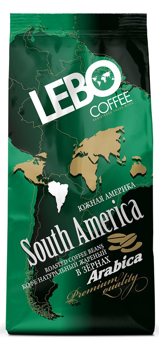Lebo Южная Америка Арабика кофе в зернах, 250 г.00000000688Натуральный жареный кофе в зернах Lebo изготовлен по особой рецептуре из лучших сортов кофе Южной Америки. Его неповторимый вкус и аромат придадут вам силы и вселят уверенность в грядущем дне. Вкус кофе богатый, с утонченной кислинкой и шоколадно-винными нотками, имеет устойчивое послевкусие. С самого первого глотка его бодрящий вкус и деликатный, богатый аромат покорит даже самого настоящего гурмана.