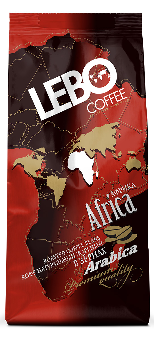 Lebo Африка Арабика кофе в зернах, 250 г0120710Натуральный жареный кофе в зернах Lebo изготовлен по особой рецептуре из лучших сортов кофе стран Африки. В этом кофе вы почувствуете дыхание южного континента. Мягкие лучи солнца и ветер жарких пустынь навеет экзотические фантазии и желание вновь и вновь пробовать этот напиток. Вкус кофе плотный, сбалансированный, бархатистый, хлебный, с нотами злаков и жасмина. С самого первого глотка его бодрящий вкус и деликатный, богатый аромат покорит даже самого настоящего гурмана.