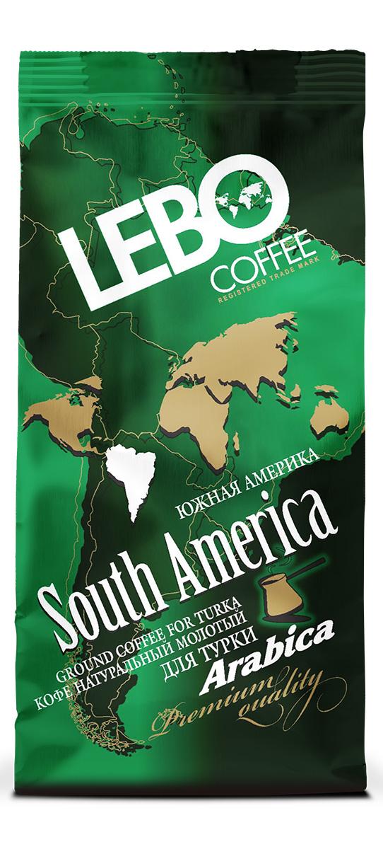 Lebo Южная Америка Арабика кофе молотый, 100 г0120710Натуральный жареный молотый кофе Lebo изготовлен по особой рецептуре из лучших сортов кофе Южной Америки. Его неповторимый вкус и аромат придадут вам силы и вселят уверенность в грядущем дне. Вкус кофе богатый, с утонченной кислинкой и шоколадно-винными нотками, имеет устойчивое послевкусие. С самого первого глотка его бодрящий вкус и деликатный, богатый аромат покорит даже самого настоящего гурмана. Кофе идеален для приготовления в турке.